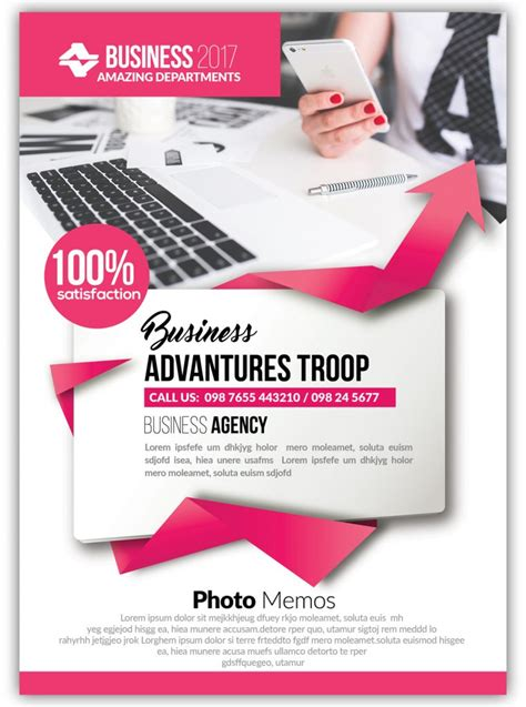 A Bundle of 100 Attractive PSD Flyer Templates for your