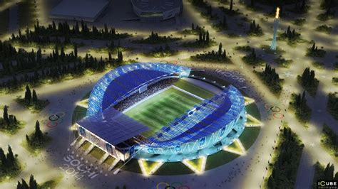 The Central Olympic Stadium of Sochi 2014   English Russia
