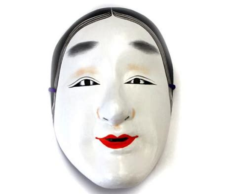 """Japanese Traditional Mask OMEN Made by WASHI """"OKAME"""" 02"""