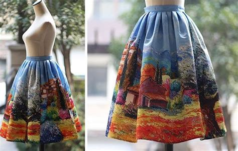 12 Incredible Skirts That Let You Bring Fine Art Wherever