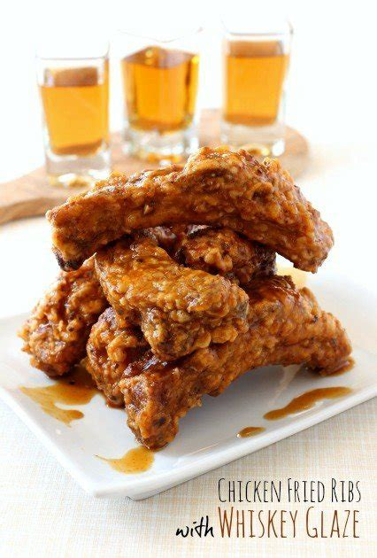 Chicken Fried Ribs with Whiskey Glaze - Mantitlement
