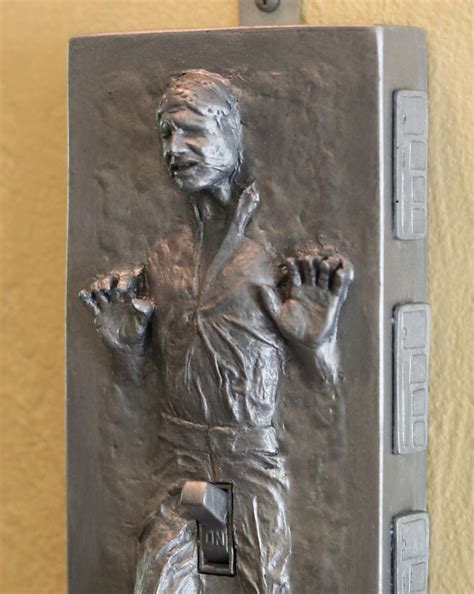 Geek Gifts: Flick Han Solo's Carbonite Genitals to Turn