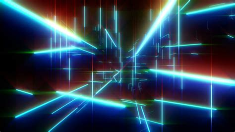 Neon Lasers Matrix Space by Gesh-tv   VideoHive
