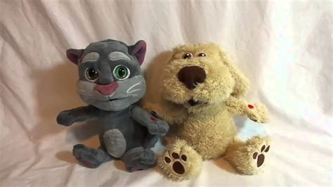 Talking Tom and Friends TOM CAT and BEN DOG Record Replay