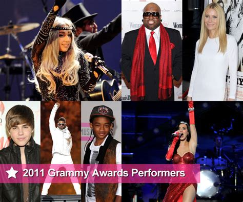 The Amazing Lineup of 2011 Grammy Award Performers
