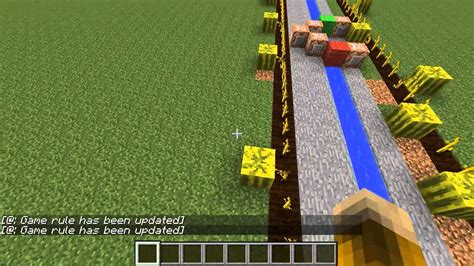 Minecraft Science! How to make melon farms grow faster
