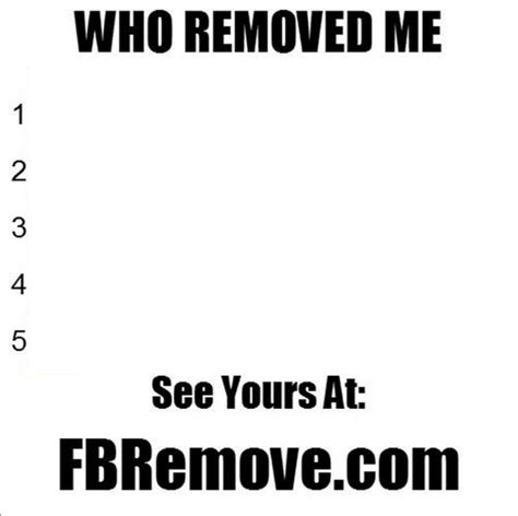 Who removed me/Facetracker/See Who deleted you on facebook
