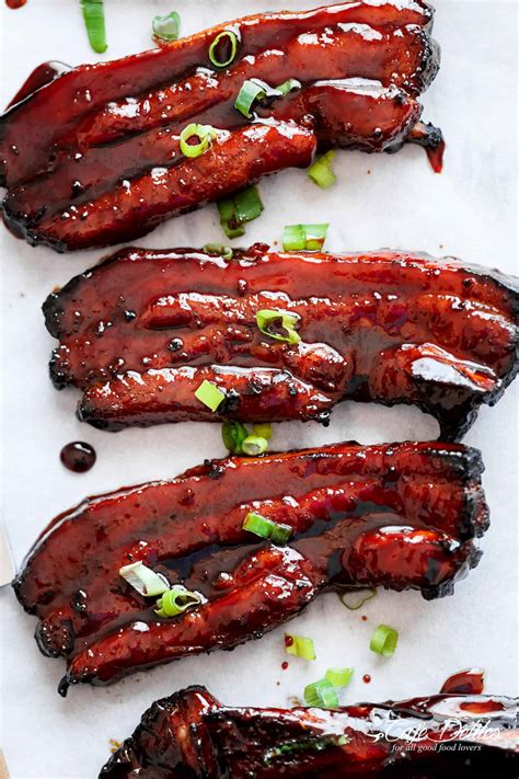 Sticky Chinese Barbecue Pork Belly (Char Siu) – recipequicks