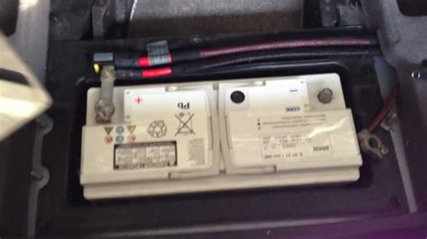 BMW E39 M5 Battery Replacement - YouTube