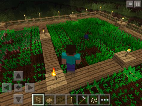 How to Grow Wheat/Carrots or Potatoes in Minecraft PE