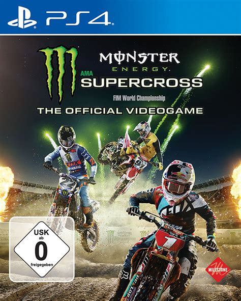 Monster Energy - Supercross - The official Videogame PS4