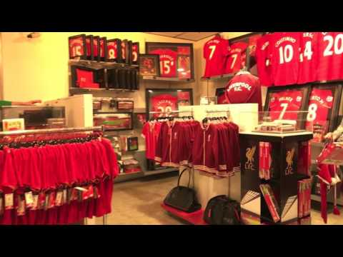 Ultimate Shopping Experience at Flagship Anfield Store