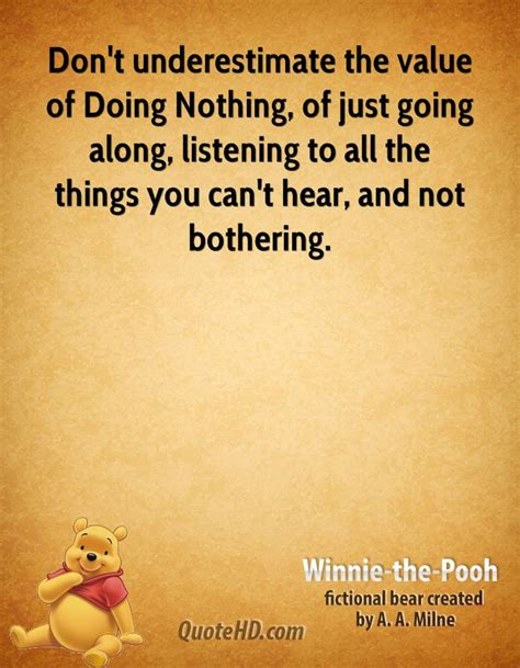Nothing Pooh Quotes