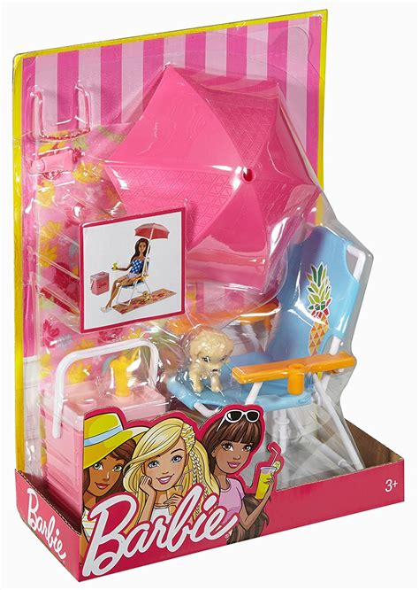 Køb Barbie Outdoor Accessory Picnic Set Doll Children Toy Play