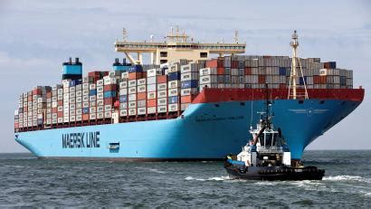 Alibaba (BABA) and Maersk partner to sell container ship