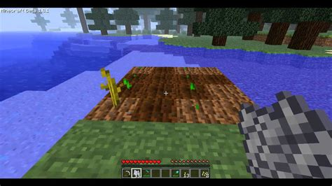 Minecraft Tutorial: How to Grow Melons/Pumpkins - YouTube