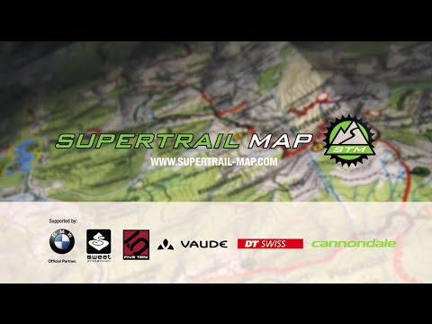 SUPERTRAIL-MAP - the one and only map for biking!