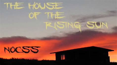 The House of The Rising Sun (Nocss Remix) - YouTube