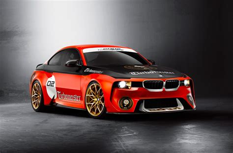 News - BMW 2002 Hommage Concept Honours Turbocharging At