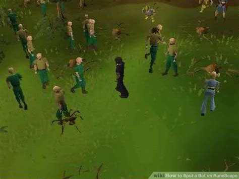 How to Spot a Bot on RuneScape: 8 Steps (with Pictures