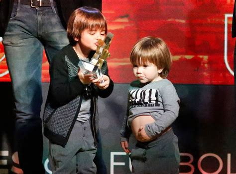 Shakira's Sons Sasha and Milan Steal the Show at Their Dad