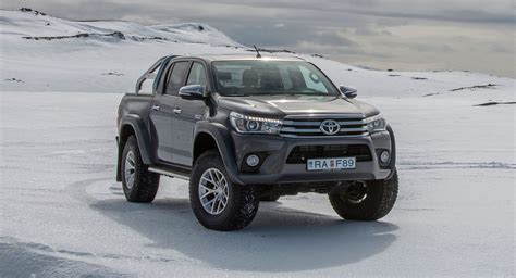 Toyota HiLux Gains Arctic Trucks AT35 Version For UK