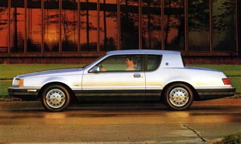 COOL CATS The 1983-88 Mercury Cougar :: Model Year Info