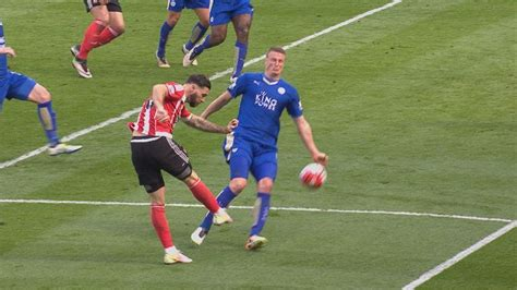Have Leicester City been lucky with referee decisions
