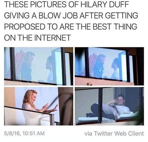 Hilary Duff proposal | Black Twitter | Know Your Meme