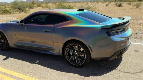 ZL1 Wrapped with 3M Gloss Psychedelic Flip - YouTube