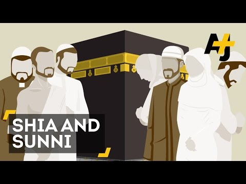 Difference between Sunnis and Shiites, (Muslims)