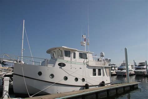 2006 Mirage Great Harbour GH37 Trawler Power Boat For Sale