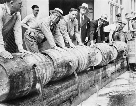 21 Photos of Prohibition Agents Destroying Perfectly Good