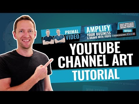 Free Channel Art Templates For Photoshop - YouTube