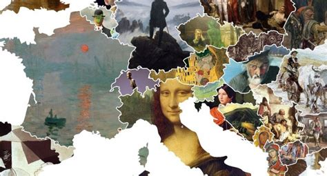 This Incredible Map Shows Europe's Most Iconic Artworks