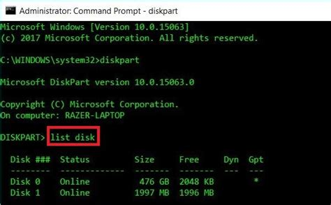 Format Linux USB Drive to recover full disk space in