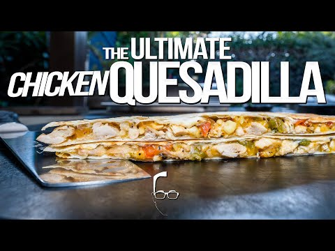 Spicy Spinach Quesadilla Recipe - The Weary Chef