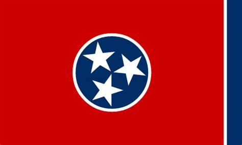 Flag of Tennessee   State Symbols USA