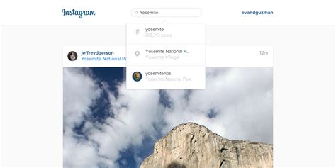 Instagram bringing place, people and hashtag search to the web