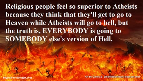 Why aren't atheists afraid of going to Hell? | Digital