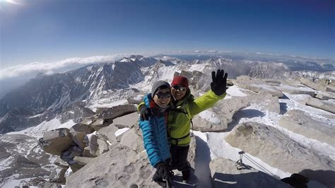 Mt Whitney in May - YouTube
