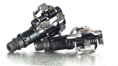 Shimano M520 SPD Pedals (black) - YouTube