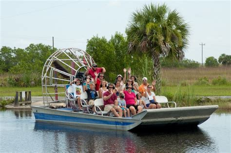 Captain Jack's and Wooten's Everglades Airboat Tours offer