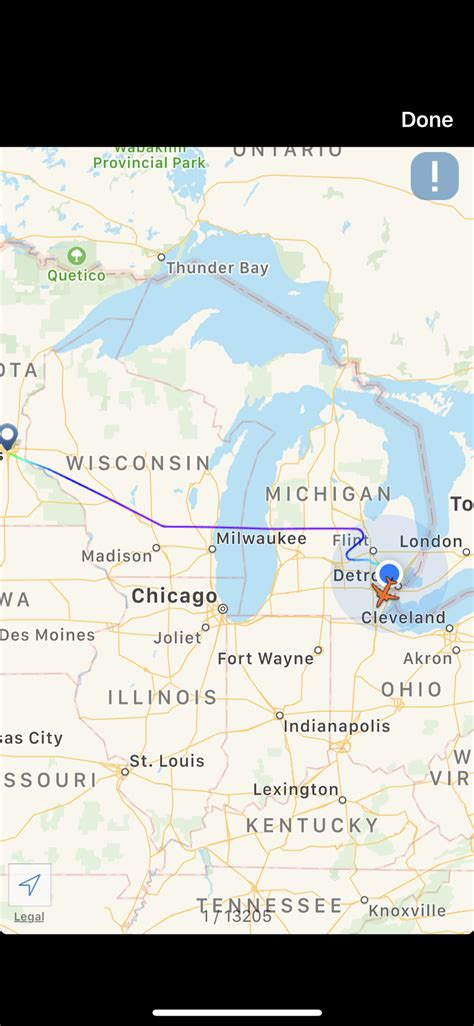 DL 1529 MSP-BOS diverted to Dtw Today