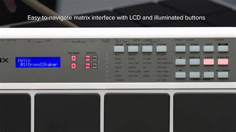 Roland Octapad SPD 20X - Overview - YouTube
