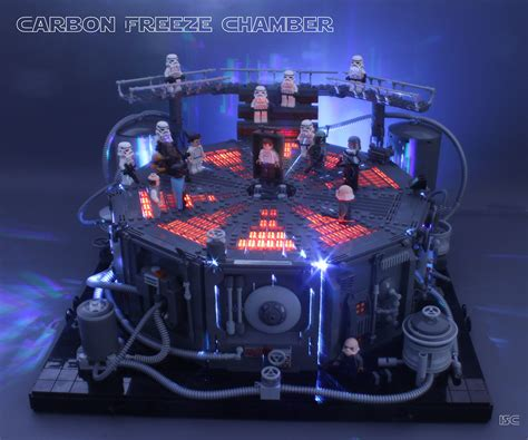 Carbon Freeze Chamber | Things look bleak for Han Solo