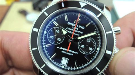 Breitling Superocean Heritage Chronograph 44 - YouTube