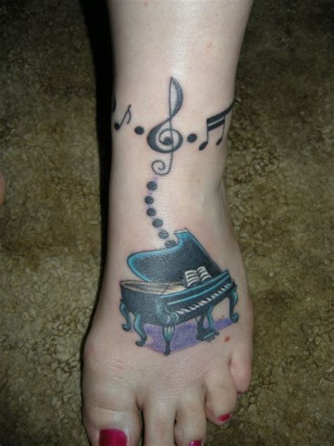Piano Tattoo Designs, Ideas and Meaning   Tattoos For You
