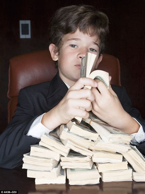Anonymous 10-year-old on luxurious lifestyle of the