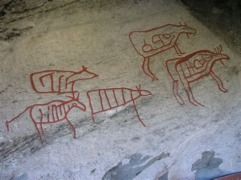Rock carvings in Central Norway - Wikipedia